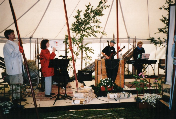 Juhannuksena Kopun teltassa 21.6.2002
